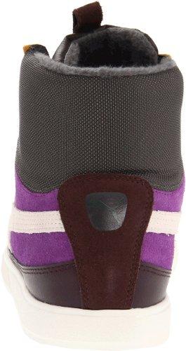 Puma Mens Archives Lite Mid Uo Chaussure De Course Café Noir / Amarante Violet / Blanc