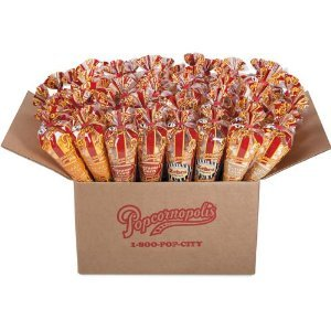 Popcornopolis Mini Cones 48-pack