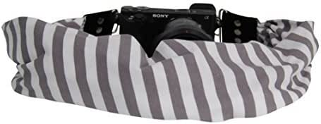 Keys Zipper Pocket Holds Your Phone Pocket Size: 6.5 Opening x 4 Deep Cash and Spare Memory Card Stretch Material Tahoe Oyster Capturing Couture Scarf Camera Strap with Hidden Pocket