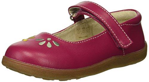 - See Kai Run Girls' Ginny Mary Jane Flat, Berry, 12.5 M US Little Kid