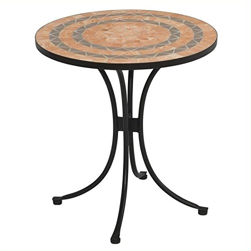 Terra Cotta Bistro Table - Bowery Hill Bistro Table in Terra Cotta