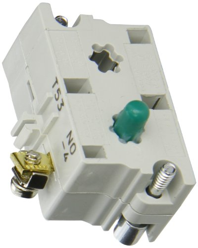 - Eaton 10250T53 Switch Contact Block, 30.5mm Diameter, Screw Terminals, SPST-NO Contacts
