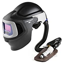3M (27-5702-10SW) Fresh-Air III Supplied Air System with V-100 Vortex Air-Cooling Valve and Welding Helmet 9100 MP, 27-5702-10SW, with Hard Hat, SideWindows and Auto-Darkening Filter 9100V, Shades 5, 8-13, 1/Case [You are purchasing the Min order quantity which is 1 CASE]