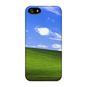 Durable Defender Case For Iphone 5/5s Tpu Cover(nature Bliss Dpi)