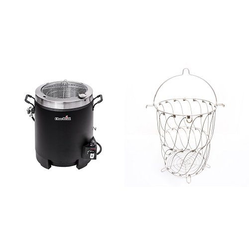 The Big Easy Oil-less Turkey Fryer with The Big Easy Better Basket by