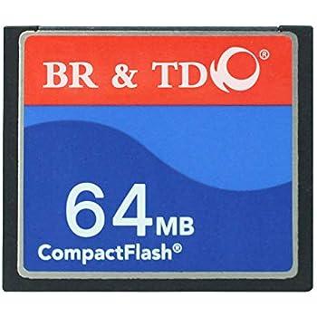Compact Flash Memory Card BR&TD ogrinal Camera Card 64mb