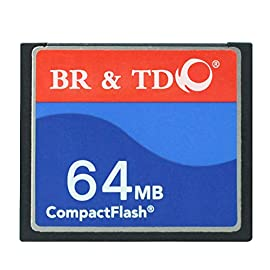 Compact Flash Memory Card BR&TD ogrinal Camera Card 64mb 7 Great for entry to mid range DSLRs Reliability from the brand trusted by pros Speeds up to 50MB/s for ultra performance
