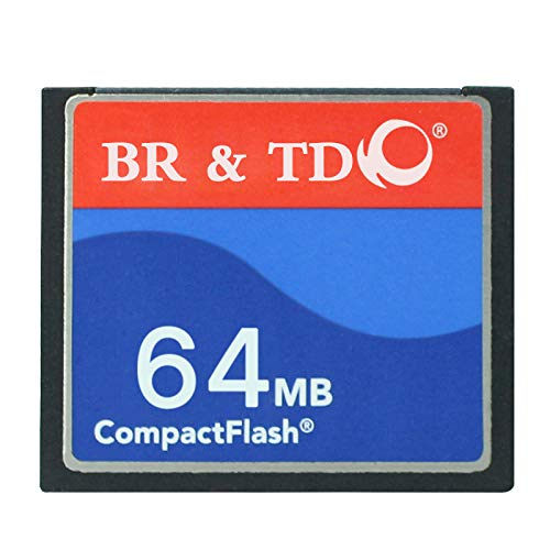 Compact Flash Memory Card BR&TD ogrinal Camera Card 64mb by BR & TD