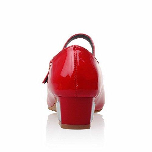 Balamasa Red Compensées Balamasa Sandales Femme Sandales PqSvT