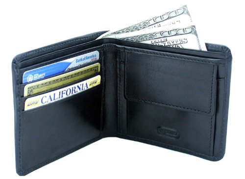 leatherbay-double-fold-leather-wallet-with-pocketblackone-size