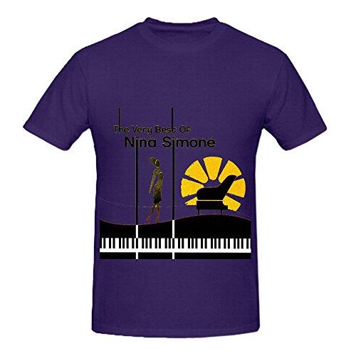 Nina Simone The Very Best Of Rocknroll Men O Neck Custom Tee Shirts