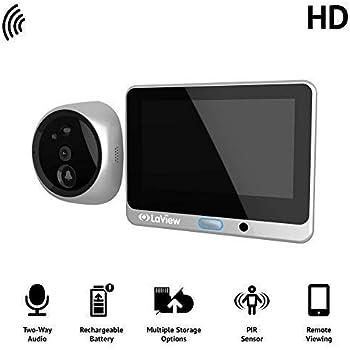 Amazon Com Laview Wireless Video Doorbell Wi Fi Door