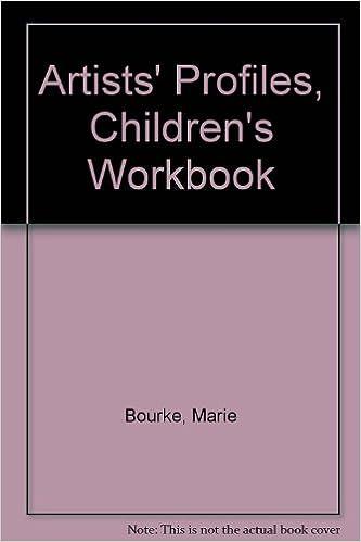 amazon in buy artists profiles children s workbook book online at