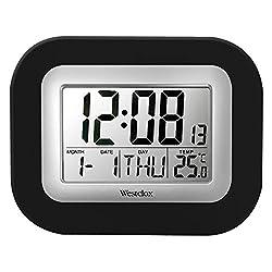 Westclox 9 in. Digital Wall Clock