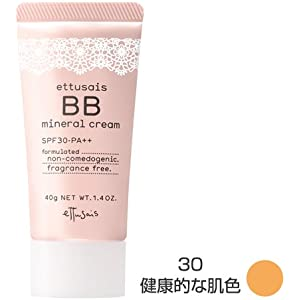 Ettusais BB Mineral Cream No.30 Gratiae   Age Defying  Instant 60 Seconds Express Correct  1.7oz