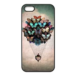 Butterfly Case for Iphone 5,5S,diy Butterfly case