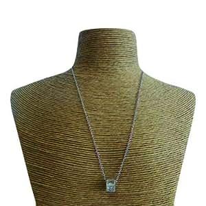Schakespeare Women's Stainless Steel Pendant Necklace