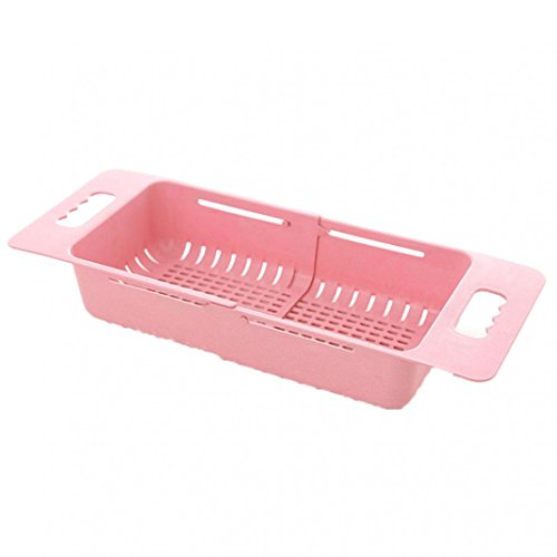 Collapsible Strainers Over The Sink Vegetable Fruit Colander