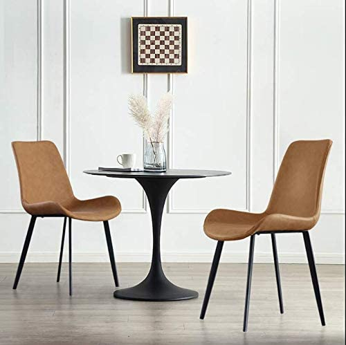 Simple Modern Dining Chairs Set Scandinavian Adult Desk Chairs Waterproof Kitchen Dining Room Bedroom Living Side Chairs