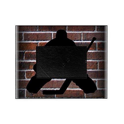 CafePress - Hockie Goalie Brick Wall - Decorative 8x10 Picture Frame