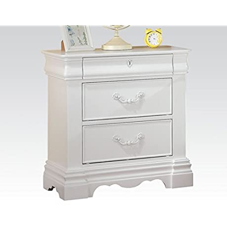 ACME Furniture 30243 Estrella Nightstand White One Size