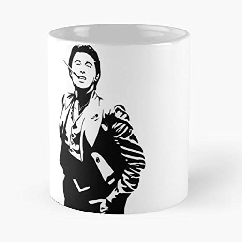 Bryan Ferry - Roxy Music Classic Mug The Funny Coffee Mugs For Halloween, Holiday, Christmas Party Decoration 11 Ounce White Leinstudio.