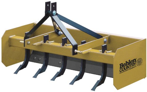 Behlen Country 80111100YEL Heavy Duty Box Blade, 5-Feet