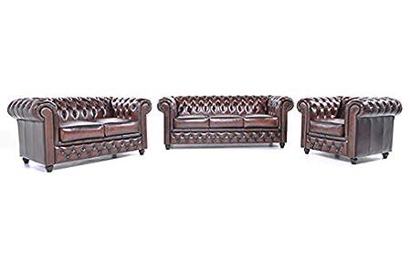 Original Chesterfield Sofas Und Sessel 1 2 3 Sitzer