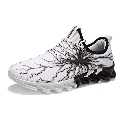 UMYOGO Running Shoes Men Mesh Fashion Casual Slip On Stylish Sneakers Athletic Walking Big Size Shoes -