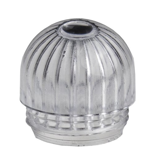 Visual Communications Clear Dome Pack of 10 VCC 25P-326C PLC T-2 9//16-27 Transparent