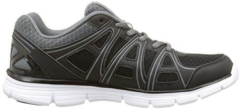 KappaUlaker - Zapatillas de Deportes de Interior hombre Negro - Noir (Black/Dk Grey)