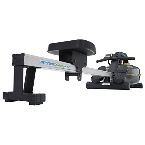 First Degree Fitness Neptune Fluid Rower with Adjustable Resistance