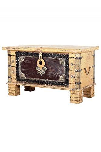 Marrakesch baúl Caja de Madera chayma 80 cm Grande | Vintage ...
