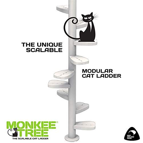 Monkee Tree The Scalable Cat Climbing Ladder 18 Trunk Starter Pack