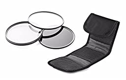 Canon VIXIA HF G40 High Grade Multi-Coated, Multi-Threaded, 3 Piece Lens Filter Kit (58mm) Made By Optics + Nwv Direct Microfiber Cleaning Cloth. …