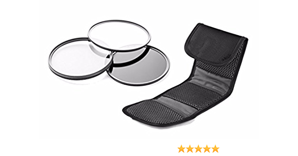 Made by Optics Multi-Threaded Lens Adapter Leica X1 High Grade Multi-Coated 49mm + Nwv Direct Microfiber Cleaning Cloth. 3 Piece Lens Filter Kit