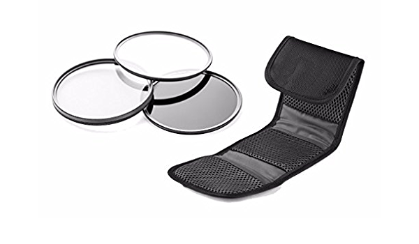 3 Piece Lens Filter Kit Nw Direct Microfiber Cleaning Cloth. Multi-Threaded Sony PXW-X70 High Grade Multi-Coated Made by Optics 62mm