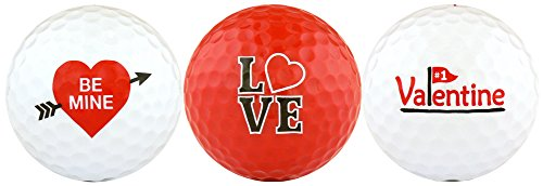 Be Mine #1 Valentine Variety Golf Ball Gift Set
