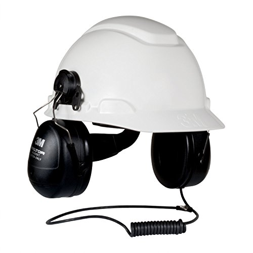 (3M 7318640031968 PELTOR HT Series HTM79P3E Listen Only Headset for Slotted Hard Hats)