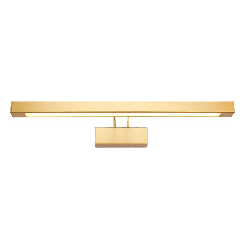 &Spiegelleuchte Spiegelfrontlicht, Badspiegelleuchte Schlafzimmerspiegel Lightsmakeup Spiegellicht (Farbe   Warmes weißes Licht-9w-42.5cm)