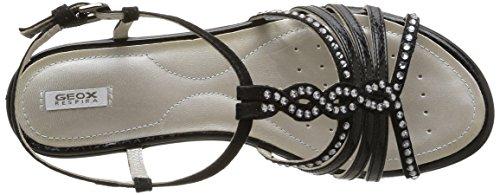 Sneaker Geox Donna New Basse blackc9999 Coral D schwarz Nero D wxIAqapgx7