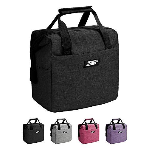 [해외]단열 도시락 가방 / Lunch Bag,Lunch Bag for Men Women Kids,Insulated Lunch Bag Leakproof Resuable Lunch Box Large Capacity Wide Open Lunch Bags with Adjustable Shoulder Strap for Office, School, Work, Picnic Hiking Beach
