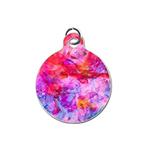 Colorful Art Custom Unique Image Dog Tag (one Side image) Ideal Gift for Pets