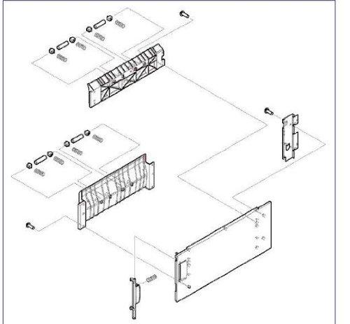 Hp Laserjet 9500 Rg5-6108-000cn Right Door -