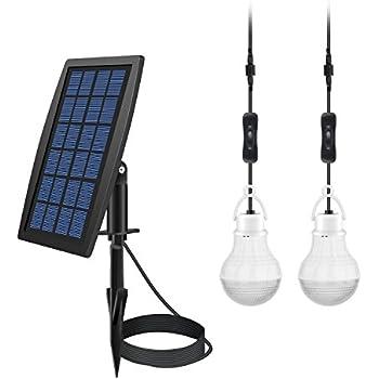 FEIFEIER Solar Power LED Bulb L& Solar Shed Light / Solar Barn Light (2 Led  sc 1 st  Amazon.com & FEIFEIER Solar Power LED Bulb Lamp Solar Shed Light / Solar Barn ... azcodes.com