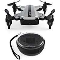 Gbell JJRC H54W Mini Foldable Pocket Drone RC Aircraft FPV Quadcopter Selfie 480P WiFi Camera Hover for Adults,Boys,Girls