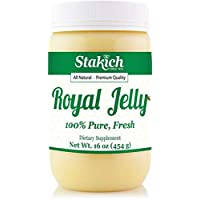 Stakich Fresh Royal Jelly - Pure, All Natural - No Additives or Preservatives Added...