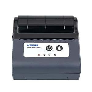 Amazon.com: Impresora térmica inalámbrica USB HSPOS Mini de ...
