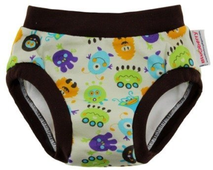 Blueberry Daytime Trainers Daytime Potty Training Pants (Monsters, Small (22-28 lbs))
