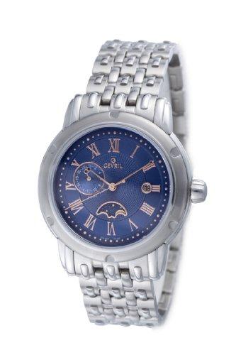 Gevril Prime Minister M0111R3B - Reloj de caballero de cuarzo, correa de acero inoxidable color plata: Gevril: Amazon.es: Relojes